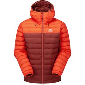 Mountain Equipment Superflux Jacket Men, czerwony/pomarańczowy